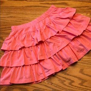 Girls Hanna Andersson Layered Twirl Skirt